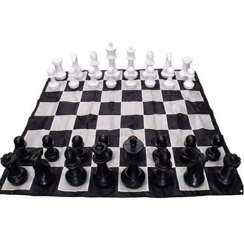 giant chess mat