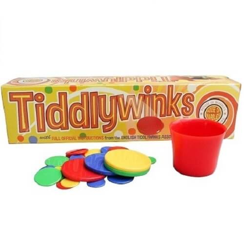 Tiddly Winks Actively Inspired