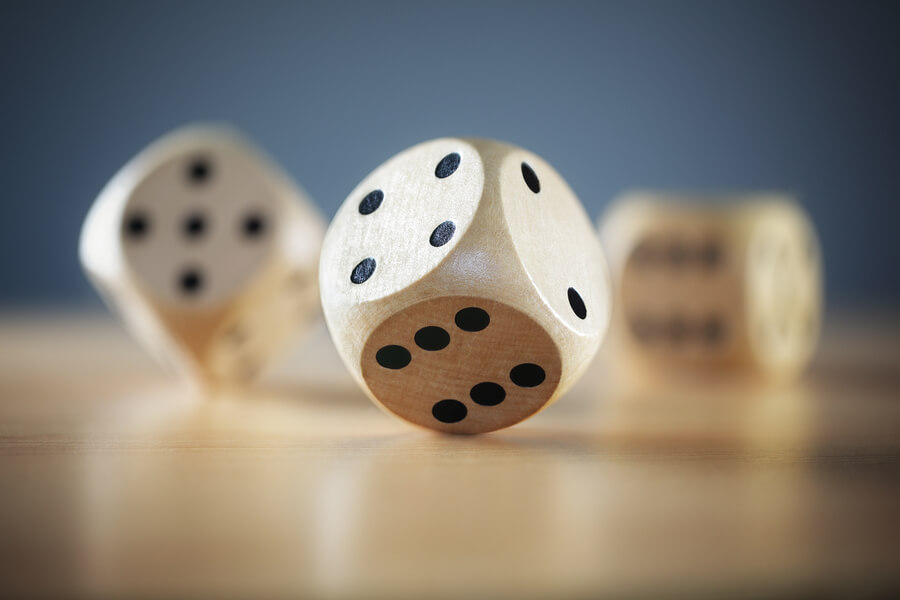 Wooden Dice at Actively Inspired