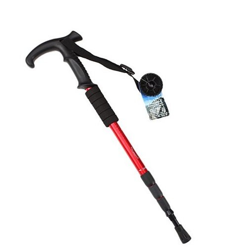 Hiking Trekking Walking Pole Cane Stick Crutch