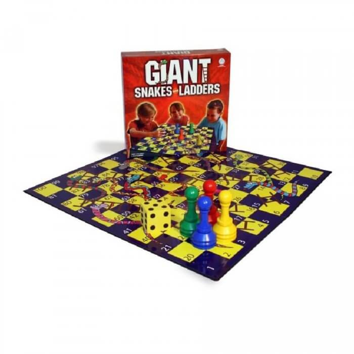 Giant Snakes & Ladders at Actively Inspired
