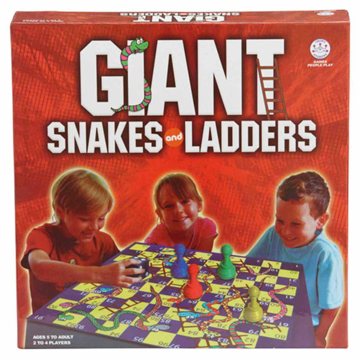Jumbo Snakes and Ladders